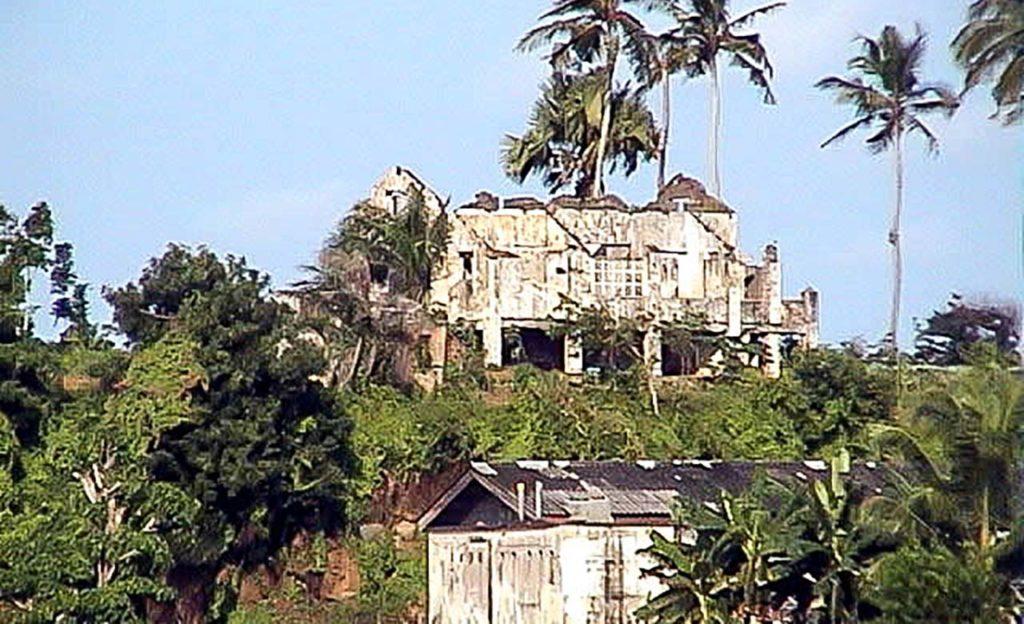 Ancien palais du gouverneur de Sassandra