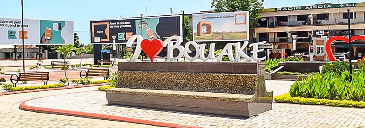 La ville de Bouake