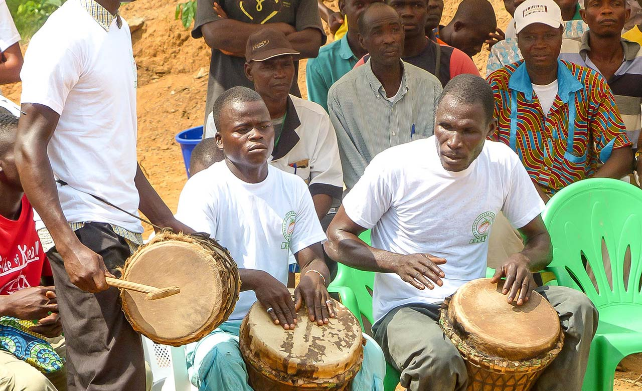 Danse des populations kroumen
