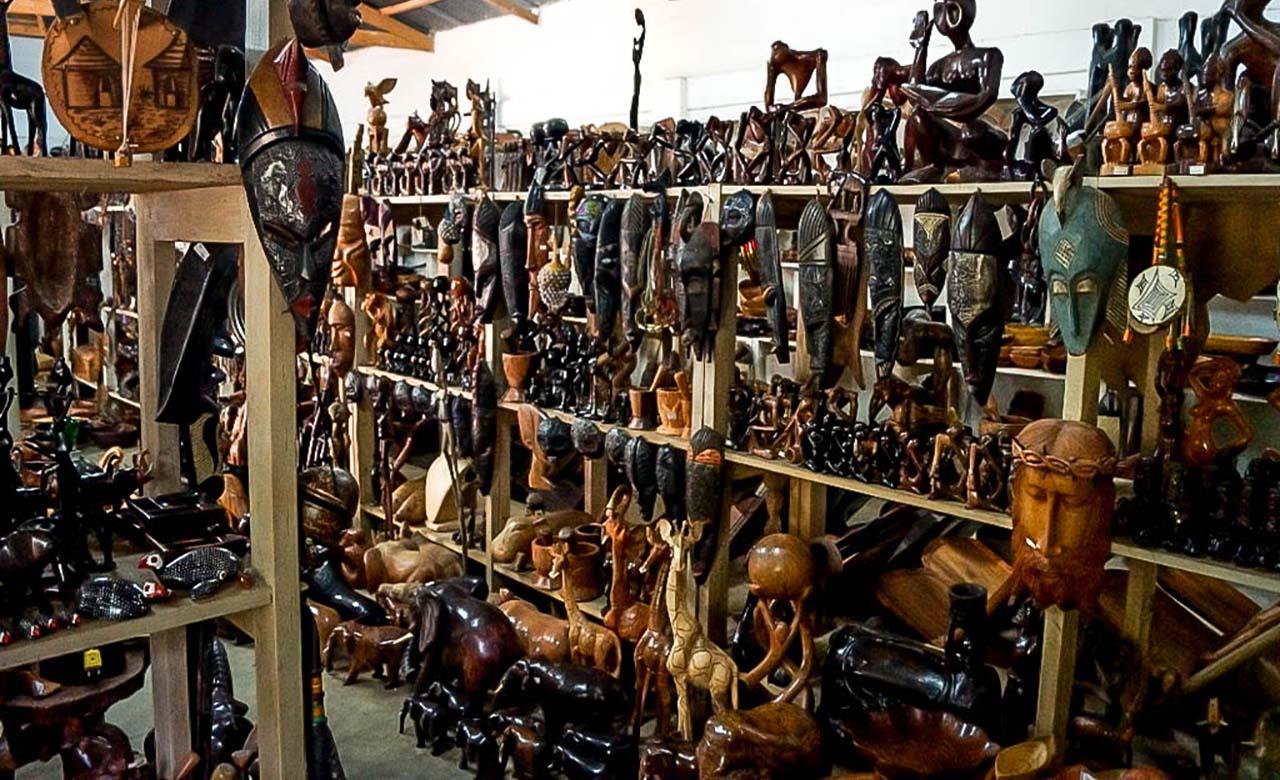 Le centre artisanal de Daloa