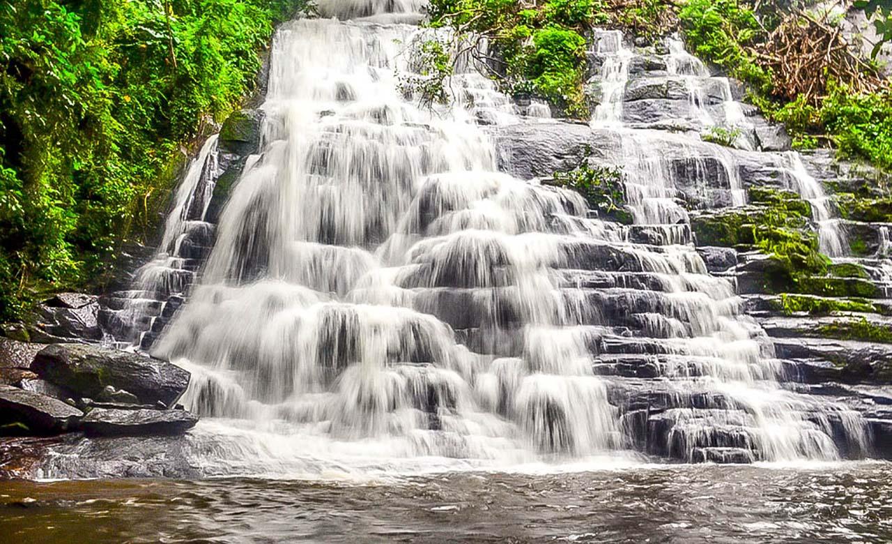 Les cascades de Man