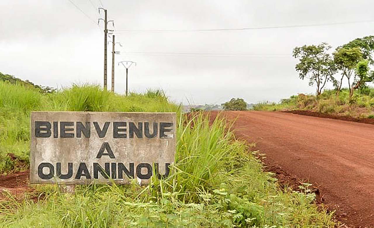 La ville de Ouaninou