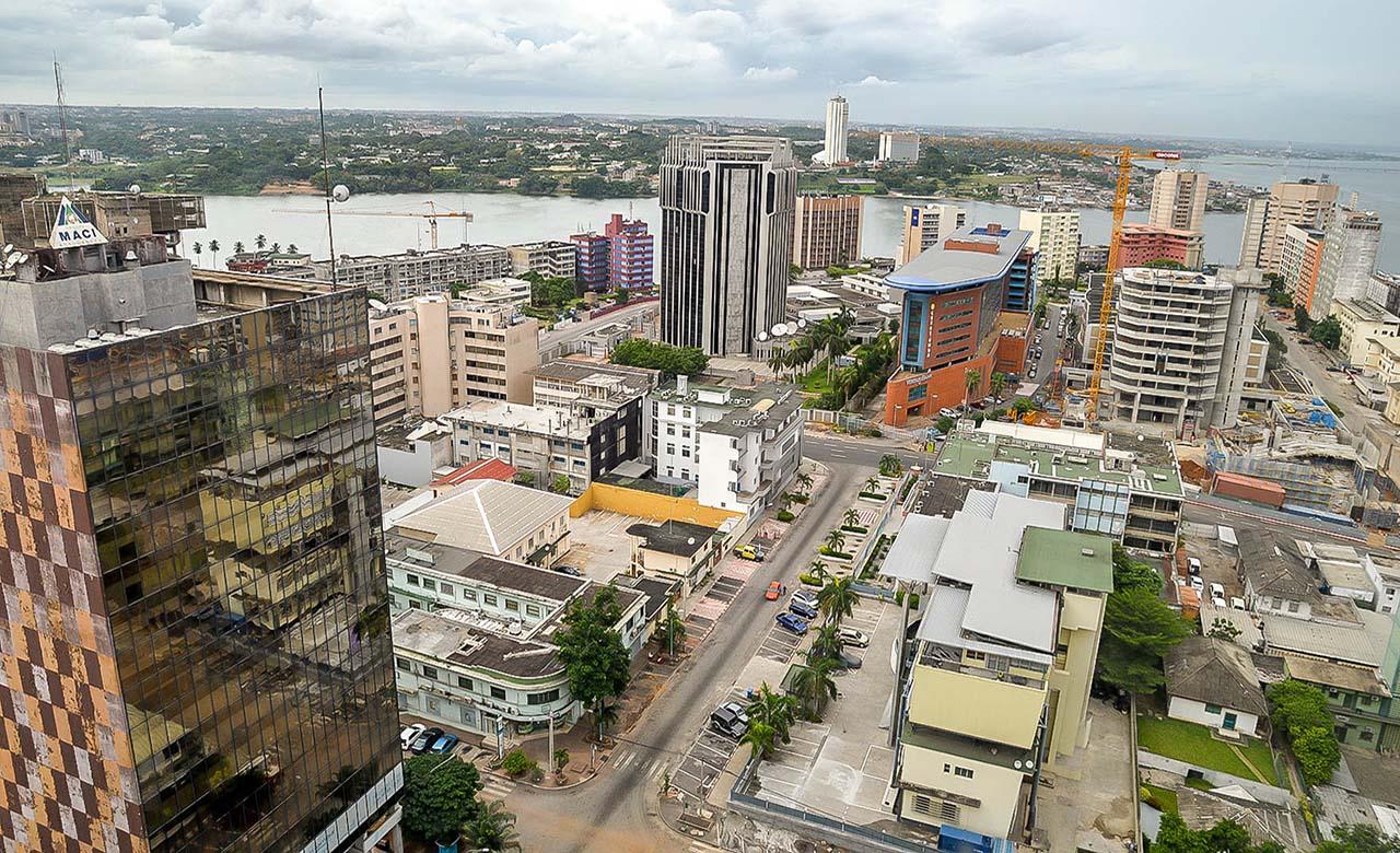 La ville d'Abidjan