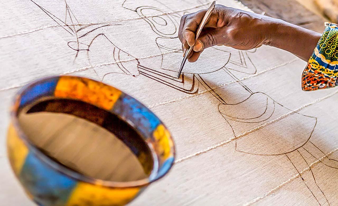 Peinture sur Toile de Fahaka